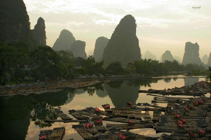 Yuangshuo karst landscape