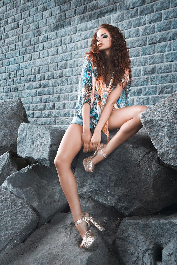 Fotograaf: William Aponno - Model: Laura Ghobrial-Agency: Only Model Management- Make-up & hair: Jacqueline Huijssoon