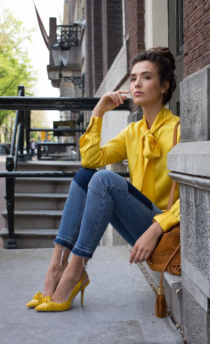 Fotograaf: Nienke Scheemaker- Model: Lachelle Dechesne- Agency: Mix Models- Make-up & hair: Jacqueline Huijssoon- Company: Silk by Nancy