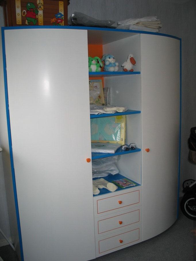 Linnenkast in babykamer