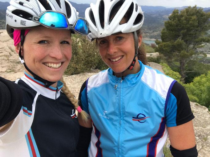 Wir zwei, super Team - danke Eva Hürliman
