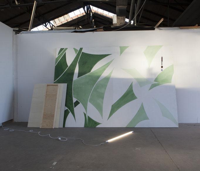 Chlorophyll Tensegrity - Monica Ursina Jäger