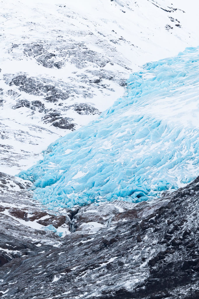 Svartisen Glacier tongue, Norway
