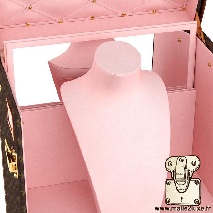 malle vendome bijoux Louis Vuitton