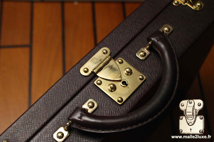 Valise Louis Vuitton cuir pour montres