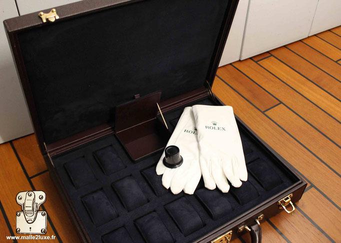Boite de rangement pour montre rolex Louis Vuitton