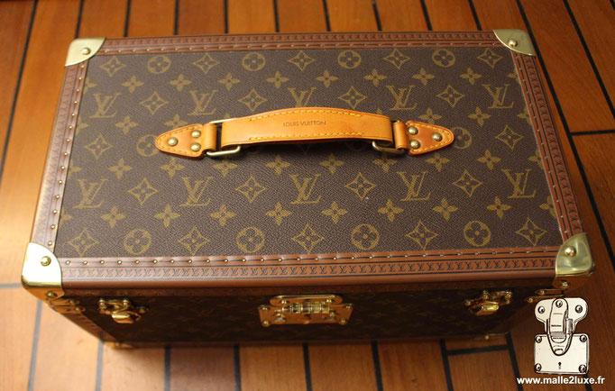 Vanity Louis Vuitton mini malle ancienne 1990
