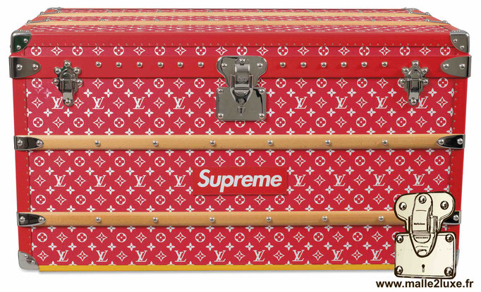 Most expensive Louis Vuitton supreme trunk amazing not beautiful