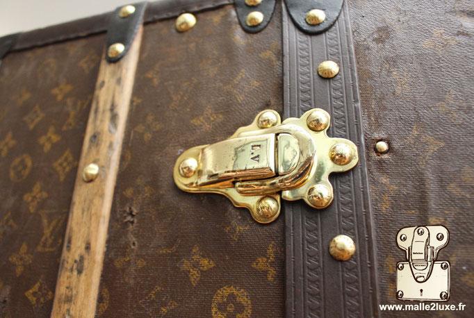 fermoir laiton wardrobe malle Louis Vuitton