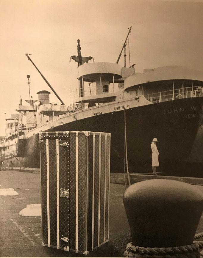 Malle bateau titanic