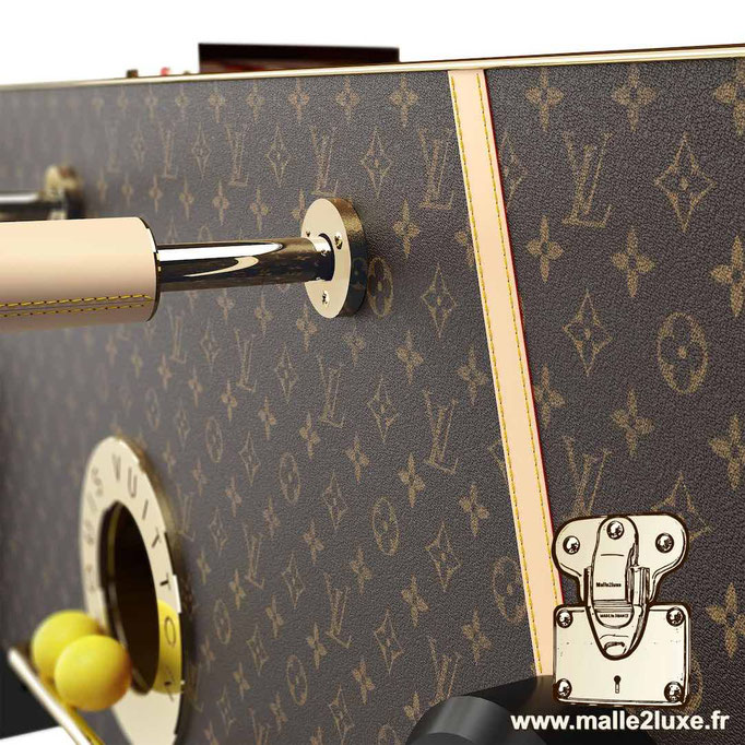 Baby-foot Louis Vuitton luxe vie