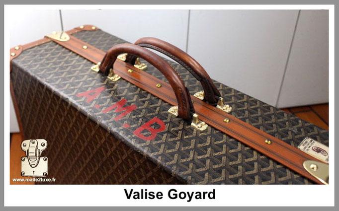 trunk suitcase shoe restore goyard