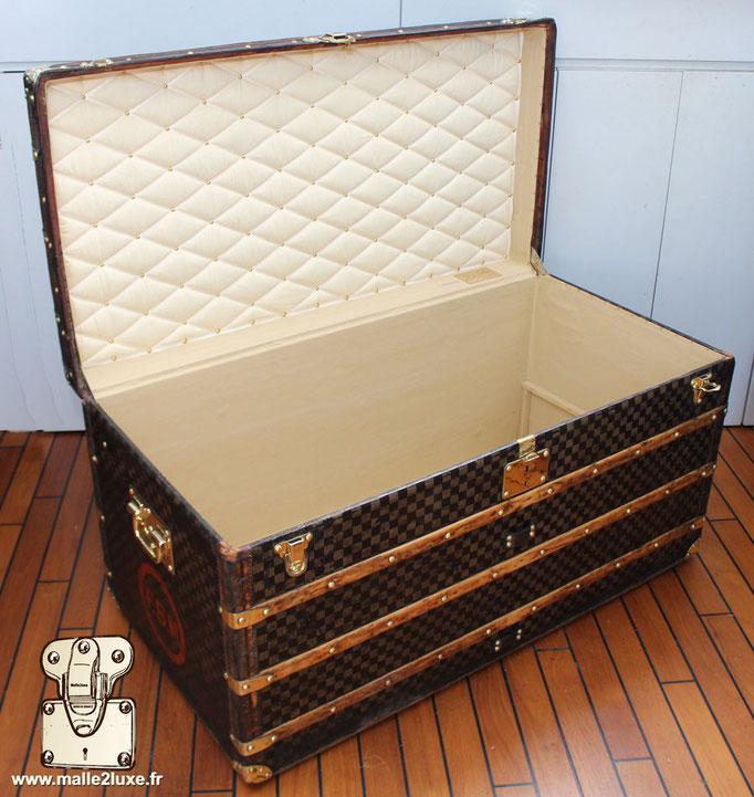 Louis Vuitton mail trunk open
