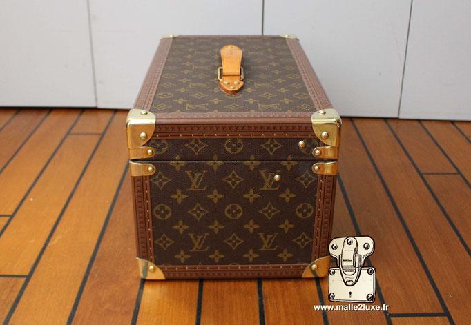 Vanity Louis Vuitton coté malle petite