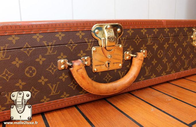 Valise bisten Louis Vuitton 80 serrure laiton