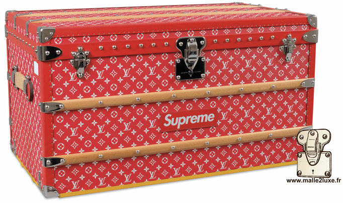 Most expensive Louis Vuitton supreme trunk amazing beautiful