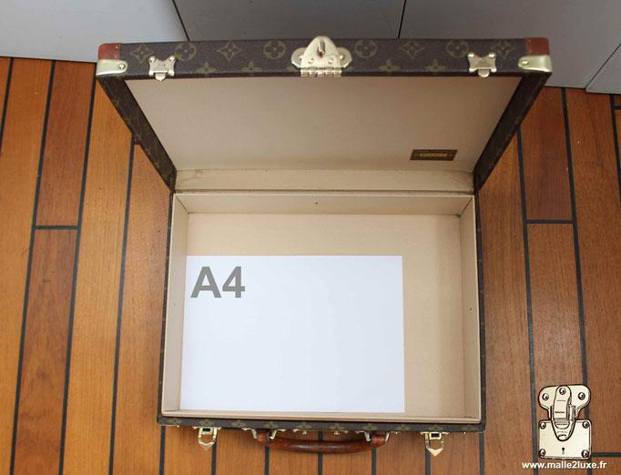 Despatch box Louis Vuitton valise intérieur format A4