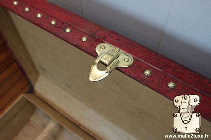 Inside Louis Vuitton trunk