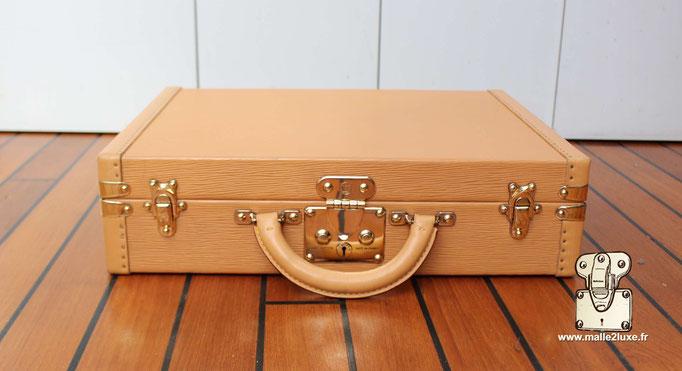 Valise président Louis Vuitton beige