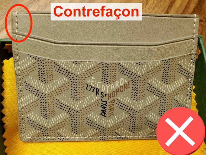 counterfeit goyard card holder
