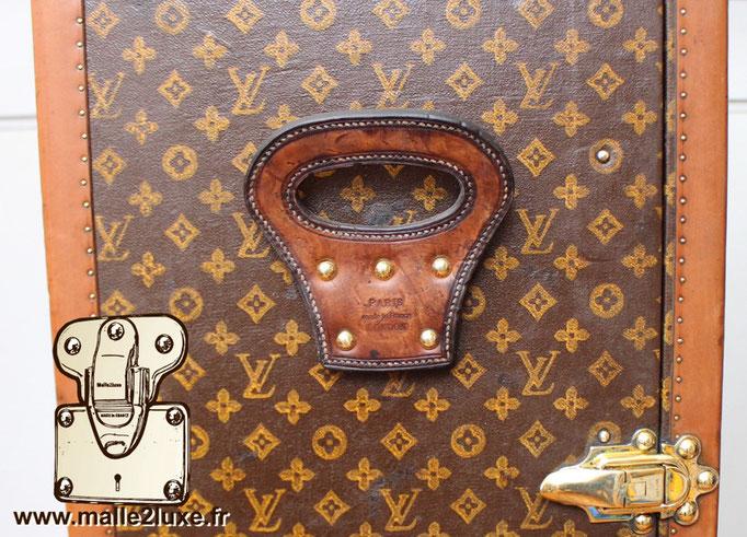 poignée de malle wardrobe Louis Vuitton ancienne vintage secrétaire