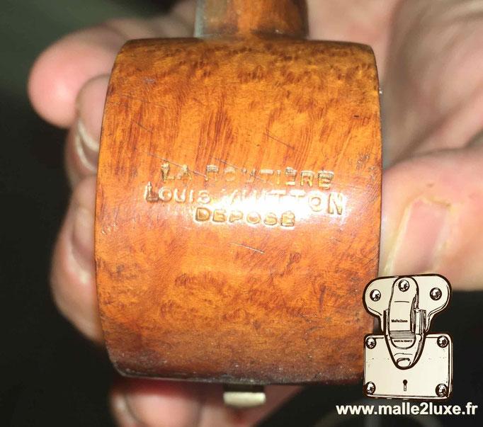 Pipe Louis Vuitton bois la routière brevet