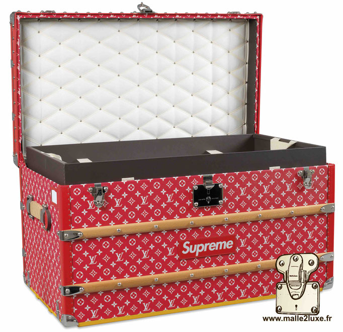 Most expensive Louis Vuitton supreme trunk amazing beautiful150 000 euros