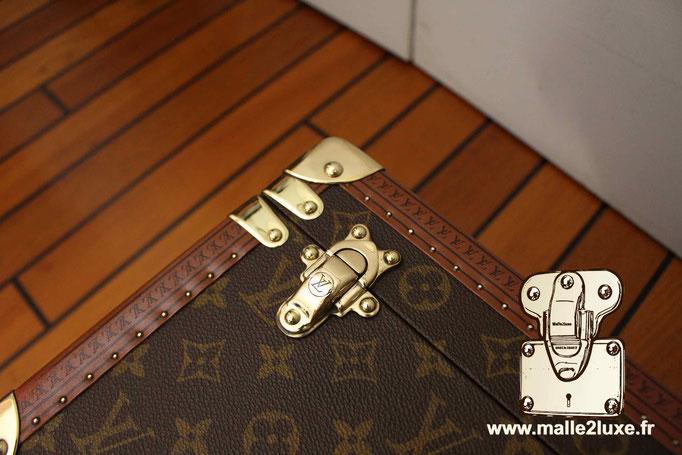 Vanity boite à bouteille Louis Vuitton fermoir laiton superbe