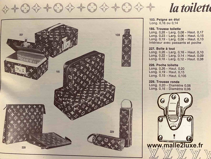 M47246 catalogue Louis Vuitton boite a bijoux boite a tout