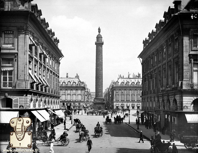 Ancienne photo place vendome paris
