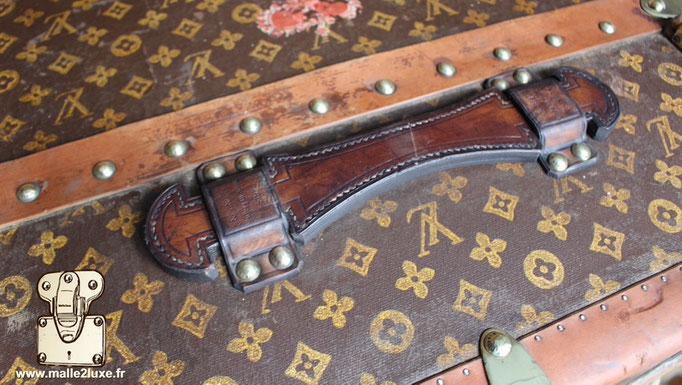poignée de malle wardrobe Louis Vuitton ancienne vintage