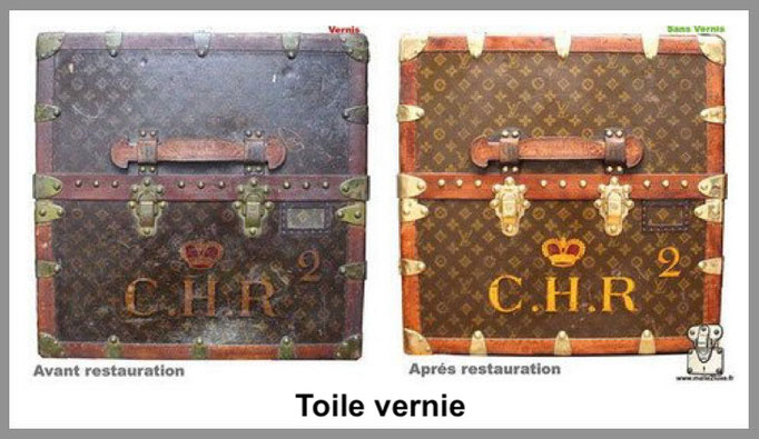 toile vernis malle louis vuitton