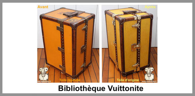 bibliothèque vuittonite malle louis vuitton