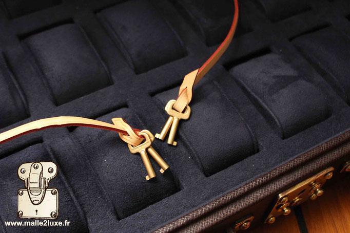 clés valise Louis Vuitton pour montre de prestige