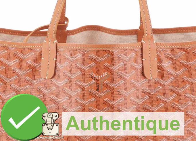 fake saint louis bag counterfeit goyard orange color