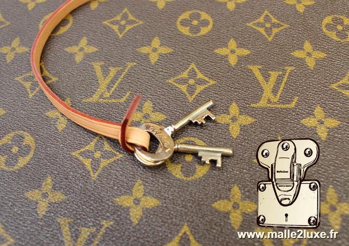 Valise Louis Vuitton cotteville 40 cm de 1970 vintage