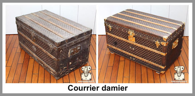 courrier damier malle louis vuitton