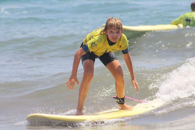 Endless summer surf