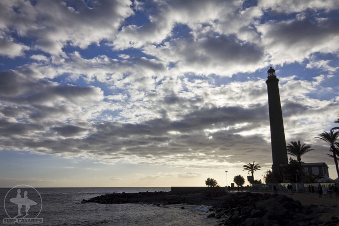 Lighthouse of Maspalomas, one of our surf spots