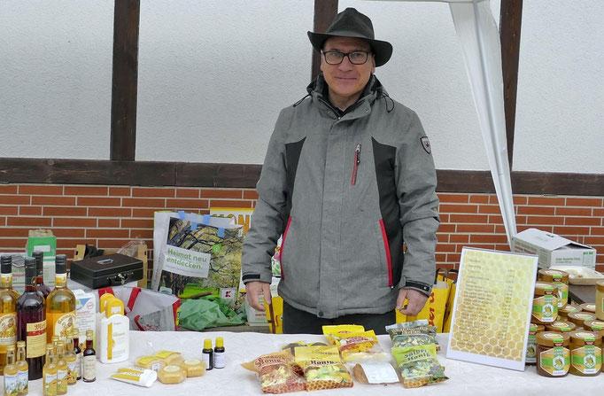 Stefan Rost, ein leidenschaftlicher Imker aus Flechtingen