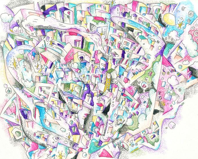 Lean Rich -Ucas-Imagination Artwork- 2020.9 242mm×334mm