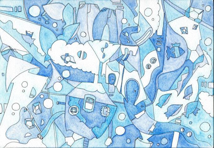 「blue ranger」 2014.1(227mm×158mm)【SOLD OUT】
