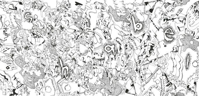 shabel「Retructuring of shabel」ArtWork(中面ジャケット) 2016.4