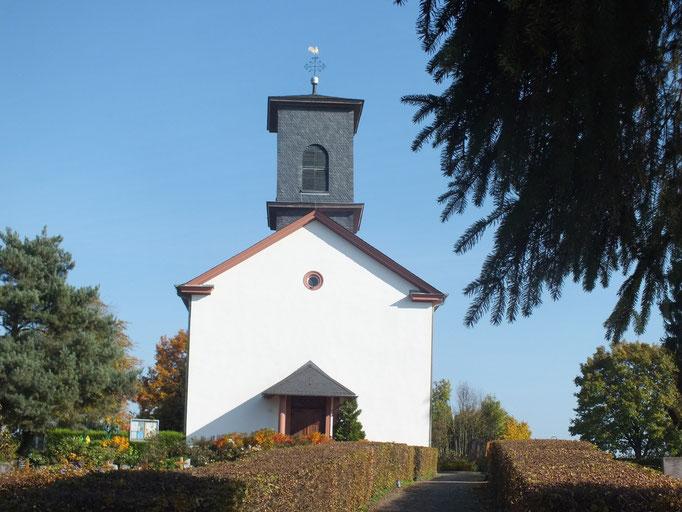 Friedhofkapelle in einem Vorort