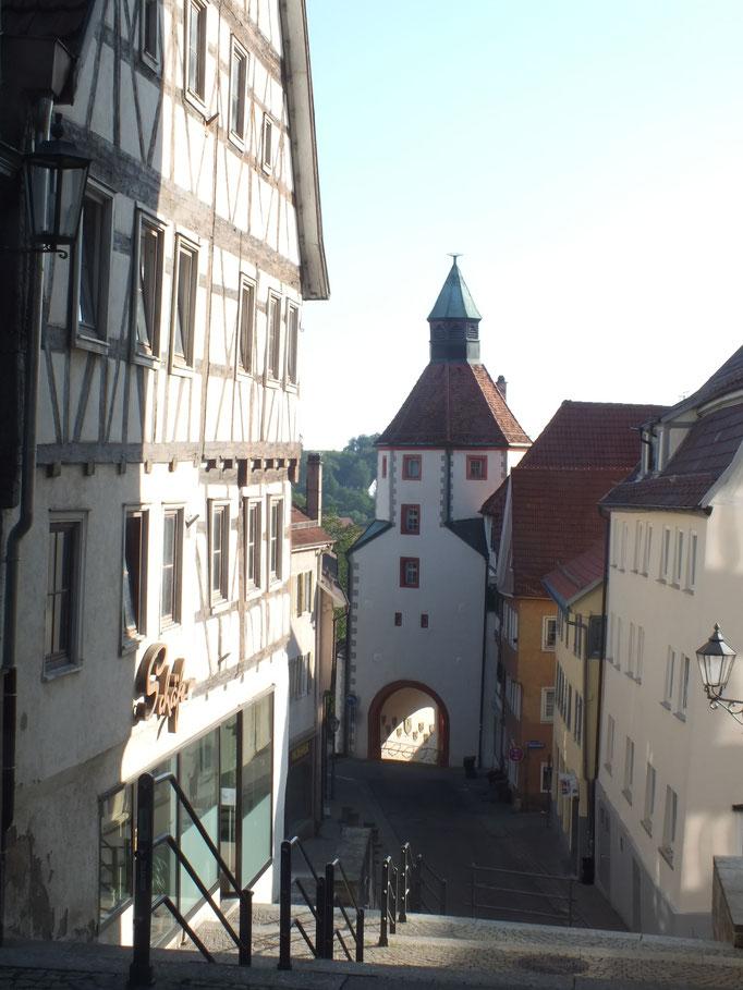 Altstadt (hinten: Unteres Tor)