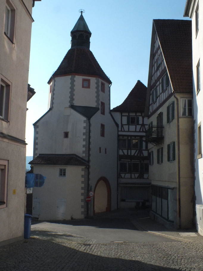 einzig erhaltenes Stadttor (Unteres Tor)
