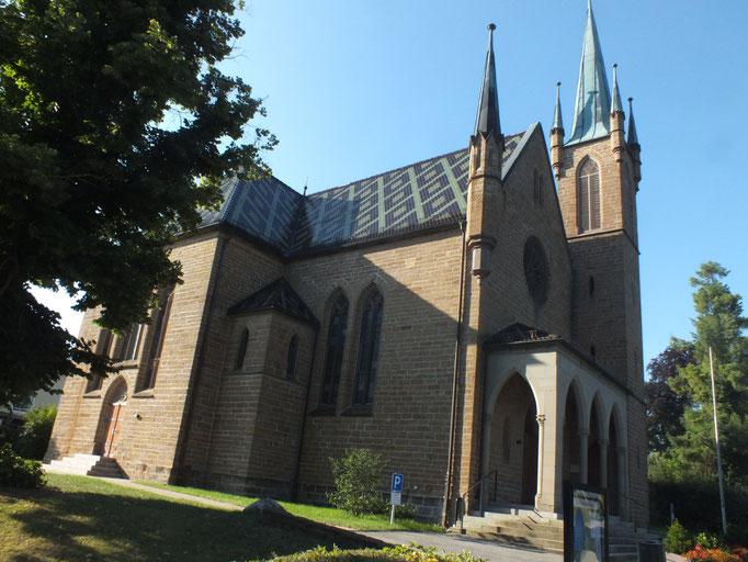 Ev. Johanneskirche (1856/57)