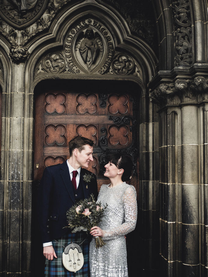 wedding bouquets edinburgh florists