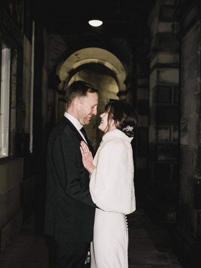 wedding edinburgh photography royal mile