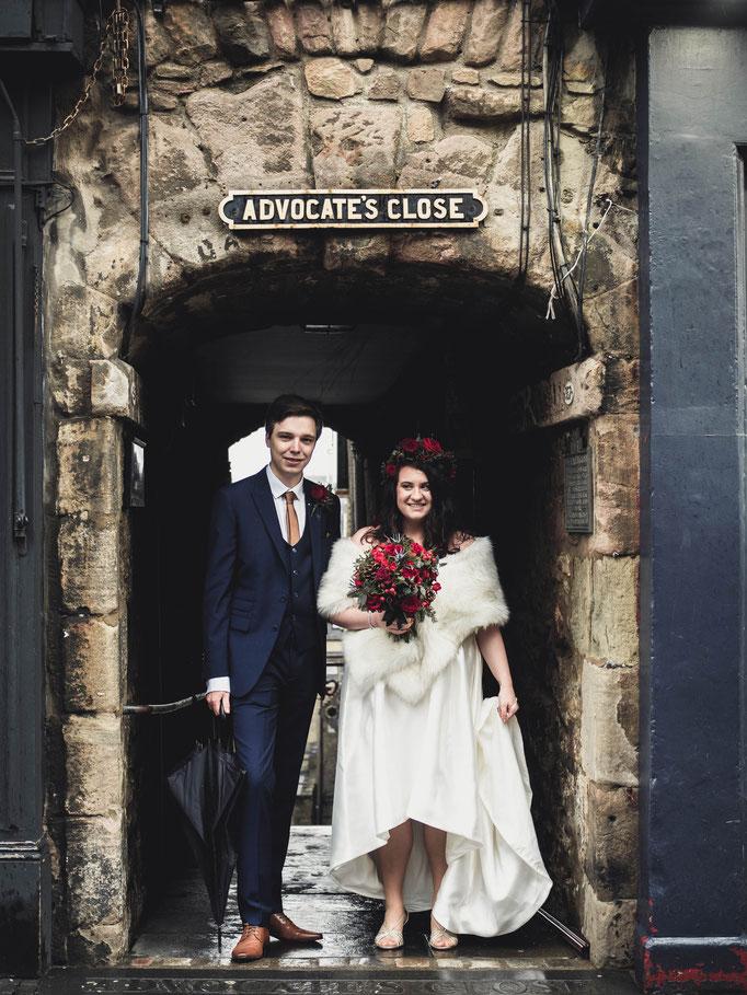 elopement wedding edinburgh